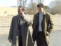 Ermitteln gemeinsam in einem neuen Fall: McGee (Sean Murray, l.) und Ned Dorneget (Matt Jones, r.) ... – © CBS International Television (ehem: Paramount Pictures International)