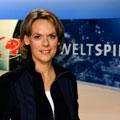 """Ute Brucker moderiert den """"Weltspiegel"""" – Tübingerin wird Nachfolgerin von Jörg Armbruster – © SWR/Alexander Kluge"""