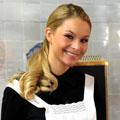 """Blondes Biest für """"Verbotene Liebe"""" – Jana Julie Kilka als attraktiver Neuzugang – Bild: ARD/Anja Glitsch"""