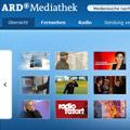 ARD löscht über 100.000 Dokumente aus Online-Angebot – Vorsitzender Peter Boudgoust bestreitet Internet-Expansion – © ARD Mediathek (Screenshot)