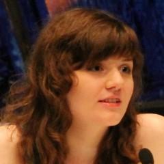 Jennifer Weiß – Bild: Brony 2014, Jennifer Weiß GalaCon 2014 1, CC BY-SA 2.5