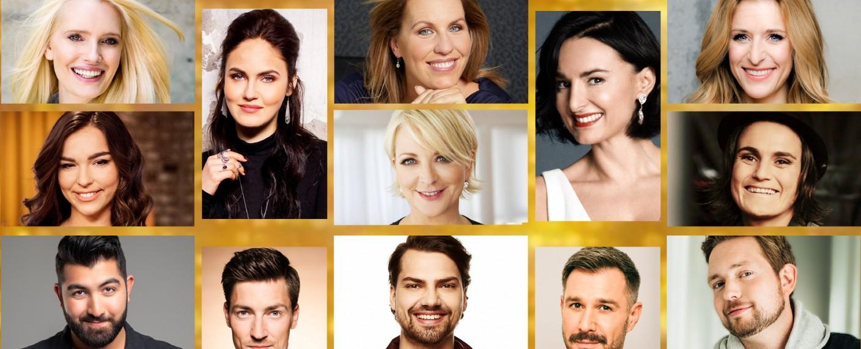 """16 Prominente präsentieren sich bei """"Showtime of my Life"""" im Adams- bzw. Evakostüm – Bild: TVNOW"""