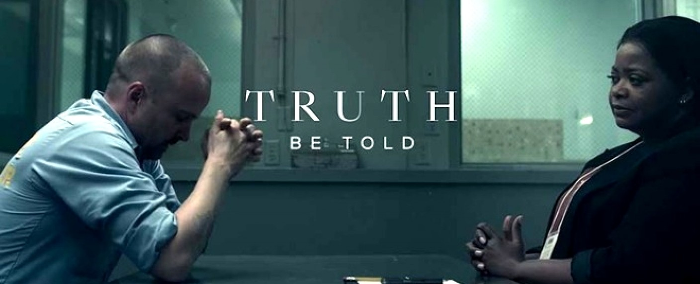"Aaron Paul (l.) und Octavia Spencer (r.) in ""Truth Be Told"" – Bild: Apple TV+"