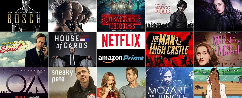 Aktuelle Serien bei Netflix und Amazon – Bild: Netflix/Amazon/Collage: TV Wunschliste