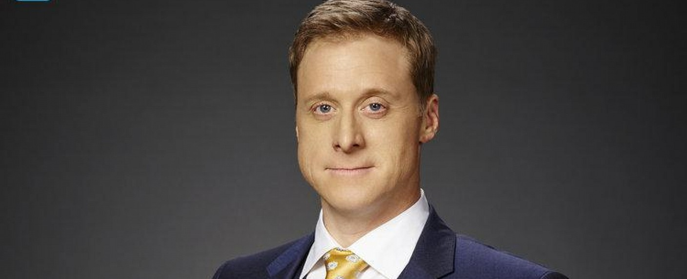 "Alan Tudyk als Van Wayne in ""Powerless"" – Bild: Paul Drinkwater/NBC"