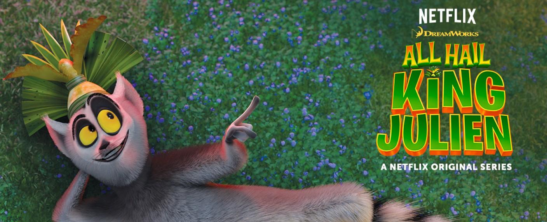 """Die Tielfigur in der Animationsserie """"All Hail King Julien"""" – Bild: Netflix"""