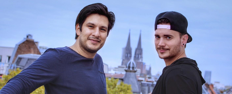 """""""Alles was zählt"""": Francisco Medina (l.) und Bela Klentze (r.) – Bild: MG RTL D"""
