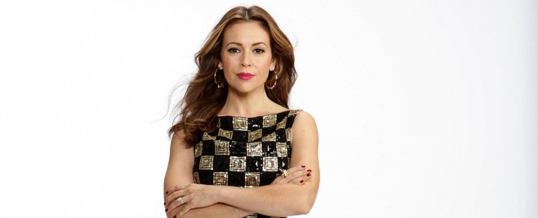 "Alyssa Milano als Moderatorin dritte Staffel von ""Project Runway All Stars"" – Bild: RTL Living / A&E Television Networks, LLC. All rights reserved."