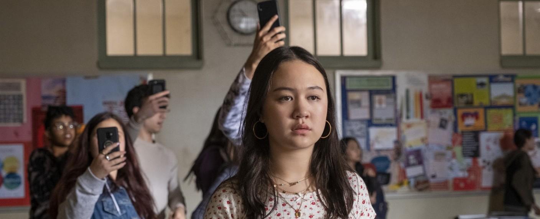 "Amalia Yoo als Leila Zimmer in ""Grand Army"" – Bild: /Jasper Savage"