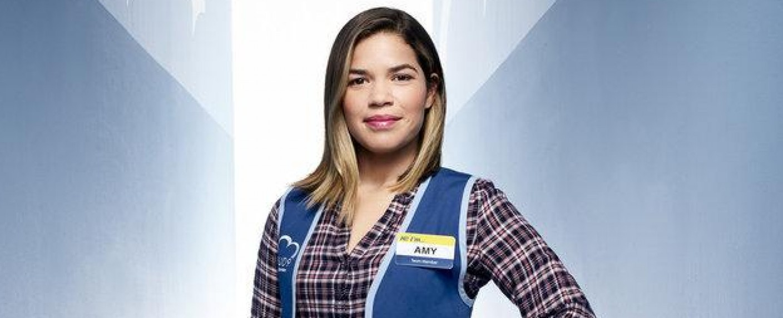 "America Ferrera als Amy in ""Superstore"" – Bild: Matthias Clamer/NBC"