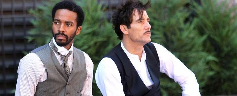 "André Holland (l.) und Clive Owen in ""The Knick"" – Bild: Cinemax"