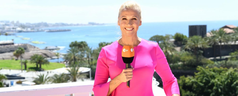 Andrea Kiewel auf Teneriffa – Bild: ZDF/Sascha Baumann