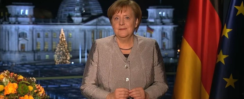 Angela Merkel – Bild: ARD/Screenshot