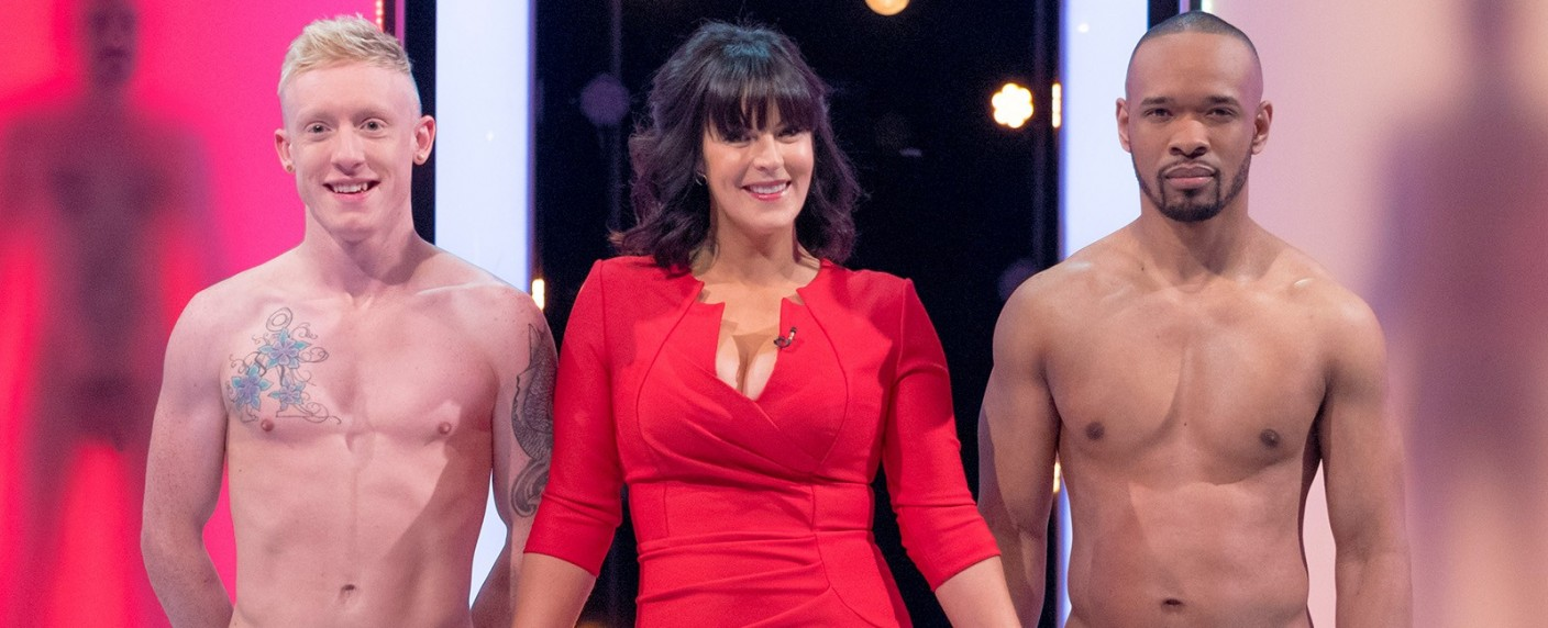 "Anna Richardson moderiert ""Naked Attraction UK"" – Bild: TVNOW/ © Studio Lambert & all3media International"