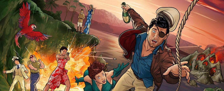 """""""Archer: Danger Island"""" – Bild: FXX"""