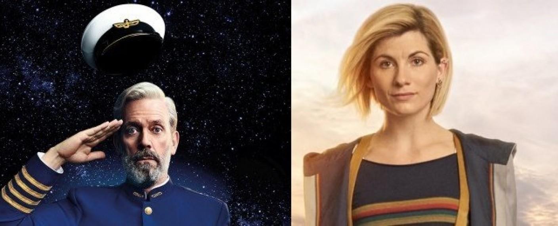"""Avenue 5"" und ""Doctor Who"" – Bild: Sky/HBO/FOX/BBC Studios"