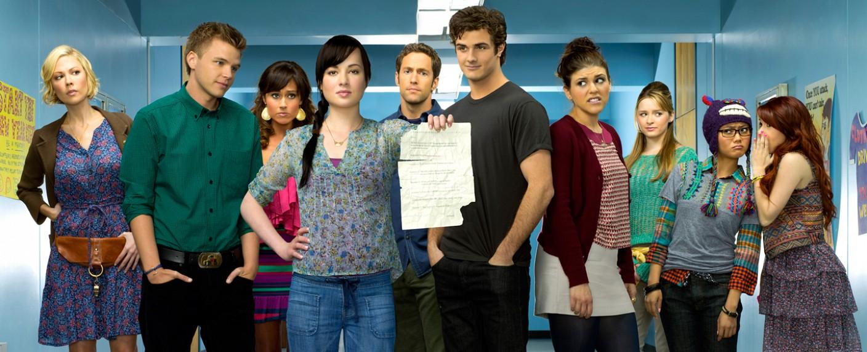 """Der ursprüngliche Cast von """"Awkward"""" – Bild: MTV"""