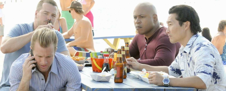 """Bereits 2012 besuchten """"NCIS""""-Kollegen für ein Crossover mit """"Hawaii Five-0"""" den Inselstaat – Bild: CBS"""
