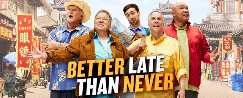 """Better Late Than Never"" – Bild: NBC"