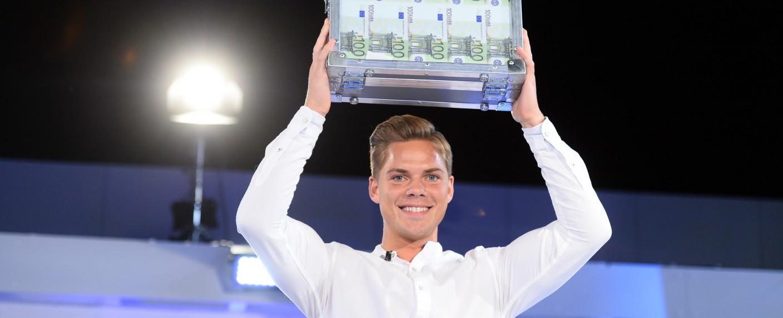"""Cedric (26) aus Mainz heißt der Gewinner der """"Big Brother""""-Staffel 2020 – Bild: Sat.1/Julia Feldhagen"""