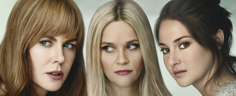 """Big Little Lies"": Nicole Kidman (l.), Reese Witherspoon (m.) und Shailene Woodley (r.) – Bild: MG RTL D / Blossom Films"