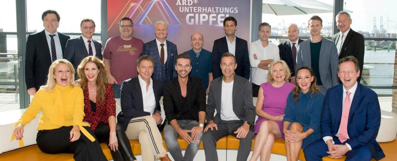 Bild vom ARD-Unterhaltungsgipfel 2018 – Bild: ARD / Thorsten Jander