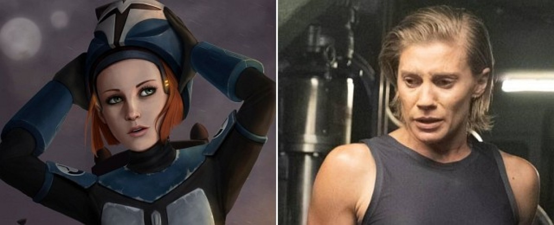 """Bo-Katan in """"Star Wars: The Clone Wars"""" und Katee Sackhoff in """"Another Life"""" – Bild: Lucasfilm/Netflix"""