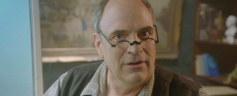 """""""Callin' Mr. Brain"""": William Cohn präsentiert als Mr. Brain geniale Erfindungen der Weltgeschichte – Bild: ZDF/Christoph Warneck"""