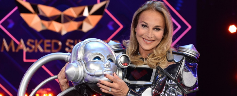 Caroline Beil war der Roboter – Bild: ProSieben/Willi Weber
