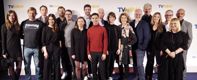 Cast und Crew der neuen TVNOW-Fictionprojekte – Bild: TVNOW/Andreas Friese