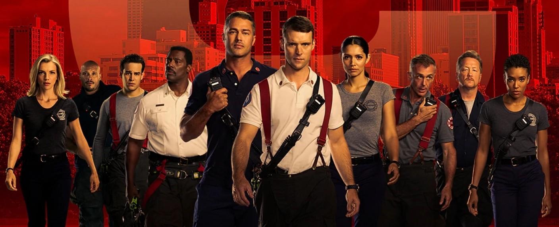 """""""Chicago Fire"""": Der Hauptcast der achten Staffel – Bild: NBC"""