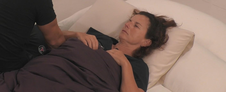 "Mobbingopfer Claudia Obert in ""Promis unter Palmen"" – Bild: Sat.1"
