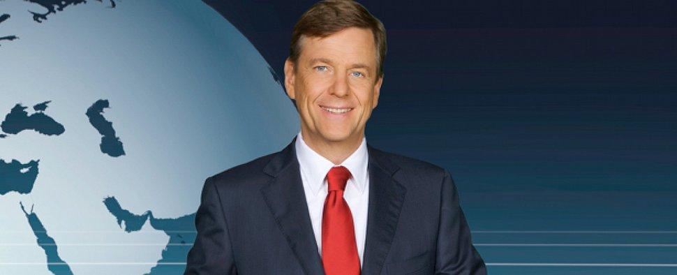 """Claus Kleber moderiert das """"heute journal"""" – Bild: ZDF/Kerstin Bänsch/Rico Rossival"""