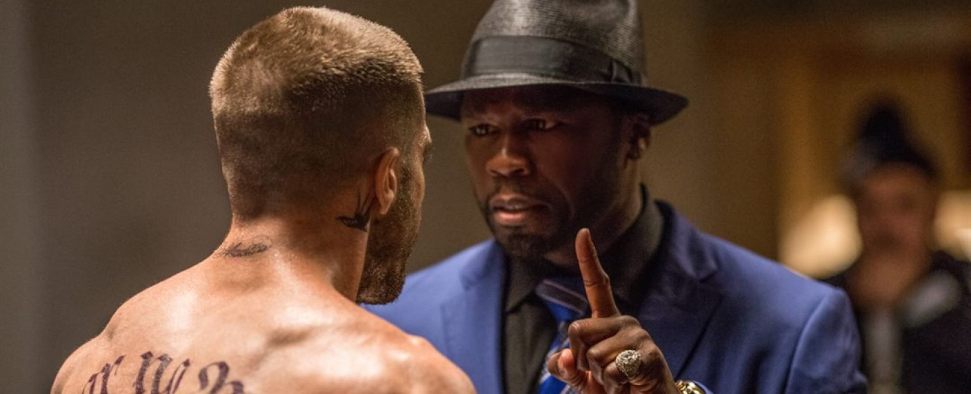"Curtis ""50 Cent"" Jackson in ""Southpaw"" – Bild: The Weinstein Company"