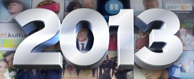 Das Fernsehjahr 2013