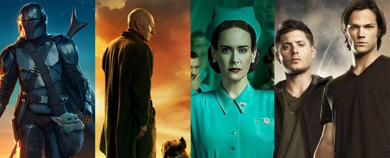 Das internationale TV-Jahr 2020 – Bild: Disney/Lucasfilm/Netflix/Amazon/The CW