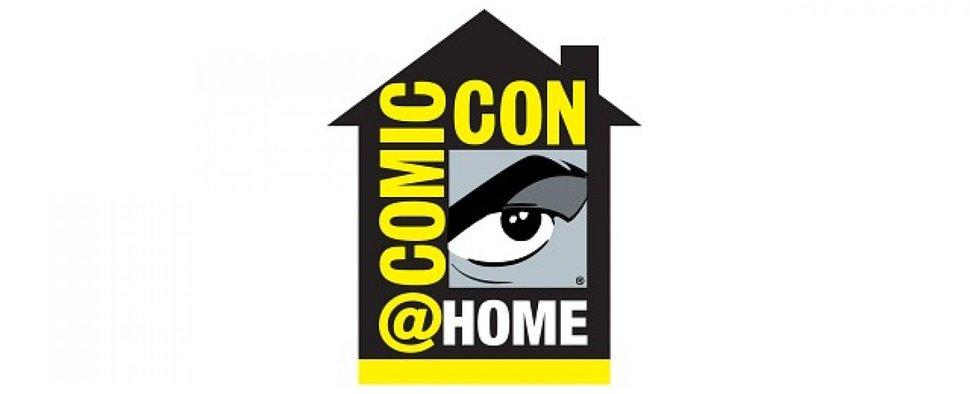 Das Logo der Comic-Con@Home – Bild: San Diego Comic Convention