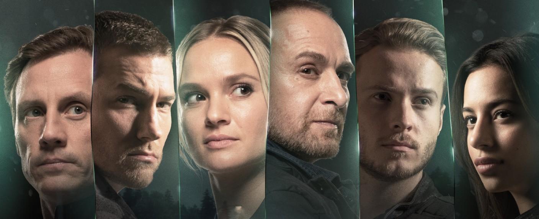"""Das neue Team von """"Alarm für Cobra 11"""" – Bild: TVNOW / Gordon Muehle/Axel Steinhanses"""