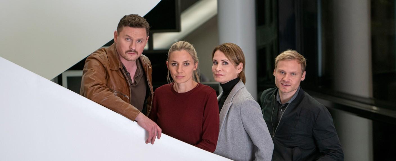 """Das Quartett"" – Bild: ZDF/Oliver Vaccaro"