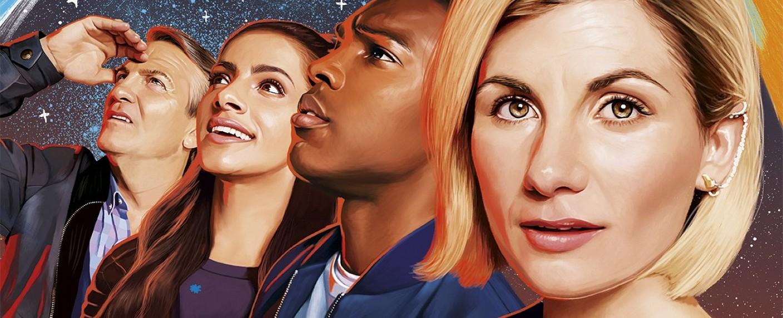 """Das Team um den Doctor seit der elften Staffel von """"Doctor Who"""" – Bild: BBC"""