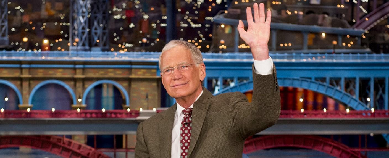 David Letterman – Bild: CBS/Jeffrey R. Staab