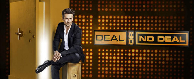 """""""Deal or no Deal"""" mit Wayne Carpendale – Bild: Sat.1/Thomas von Aagh"""