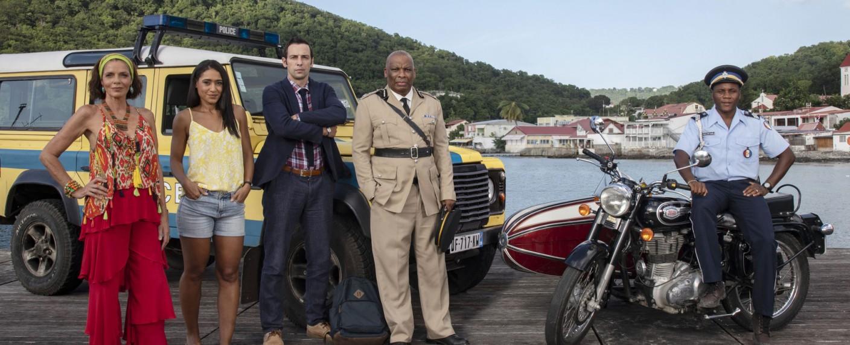 """""""Death in Paradise"""": Die Hauptdarsteller der zehnten Staffel – Bild: BBC One"""