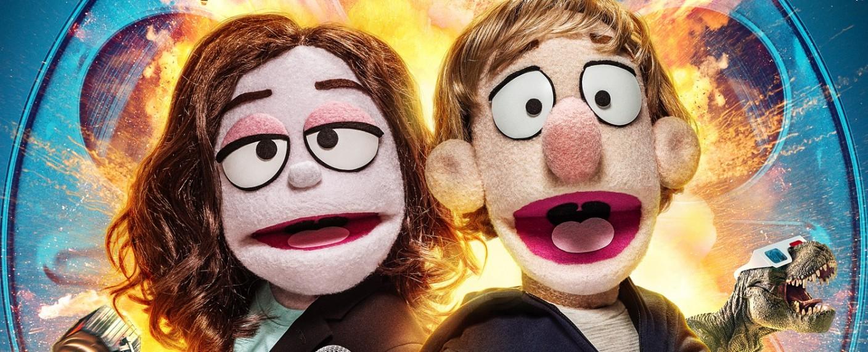 """Deb und Wade moderieren """"The Movie Show"""" – Bild: SYFY"""