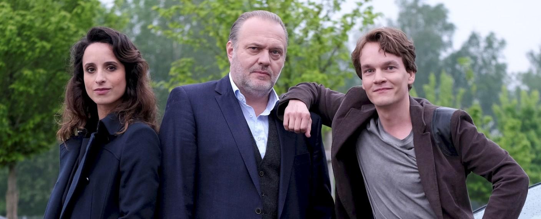 Stephanie Stumph, Jan-Gregor Kremp und Ludwig Blochberger – Bild: ZDF / Jacqueline Krause-Burberg
