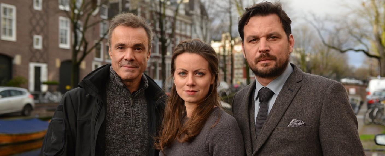 """""""Der Amsterdam-Krimi"""" mit Hannes Jaenicke, Alice Dwyer und Sascha Alexander Gersak – Bild: ARD Degeto/Martin Menke"""