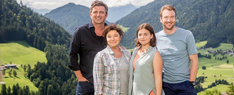 """Hat gute Chancen auf den Sieg: """"Der Bergdoktor"""" – Bild: ZDF/Roland Detrancesco"""