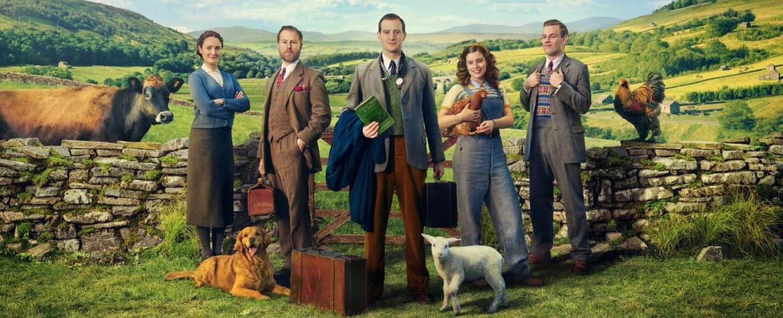 """Der Cast von """"Der Doktor und das liebe Vieh"""" – Bild: Channel 5"""