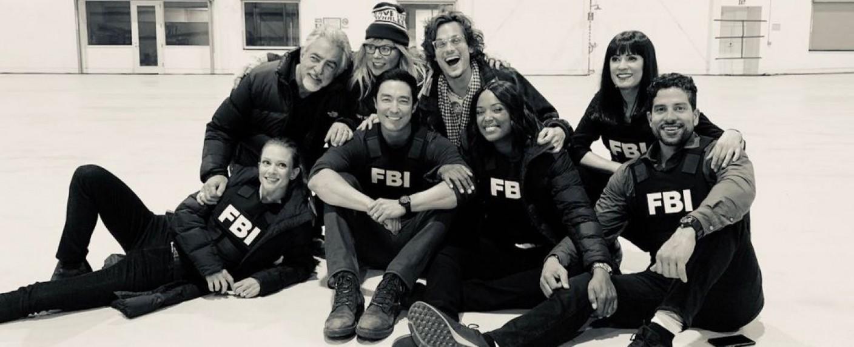 """Der Cast von """"Criminal Minds"""" bei den Dreharbeiten zur finalen Folge im Mai 2019 – Bild: @GUBLERNATION (Matthew Gray Gubler)/Twitter"""