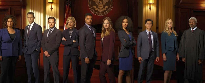"""Der umfangreiche Cast von """"For the People"""" – Bild: ABC"""